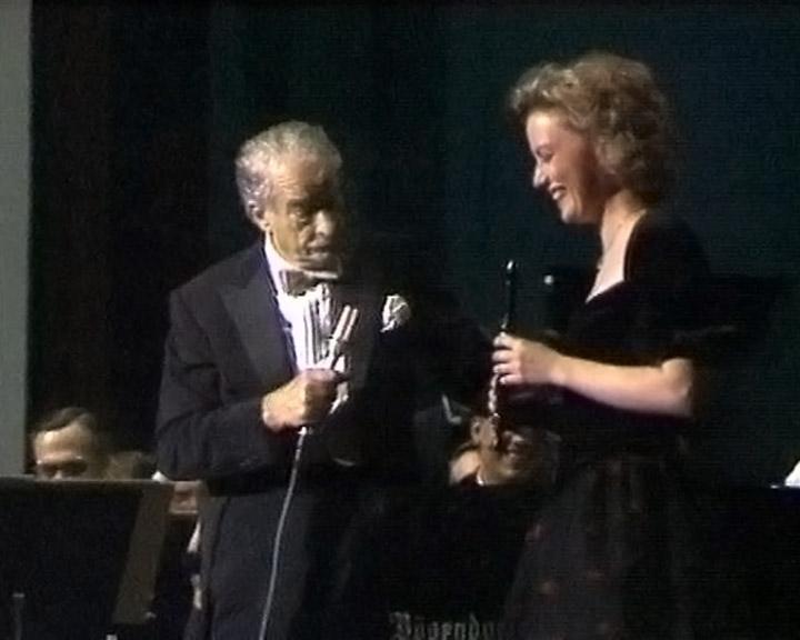 Victor Borge og Michala Petri