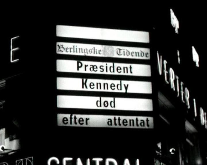 Præsident Kennedy myrdes