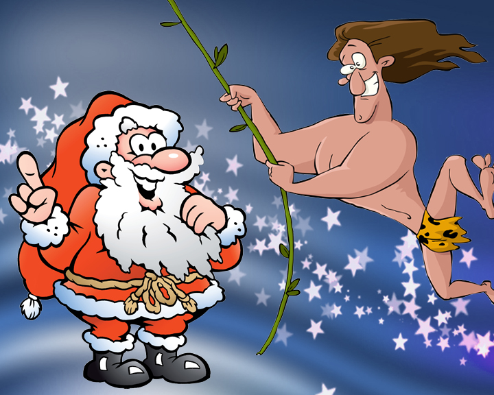 Tarzan og julemanden