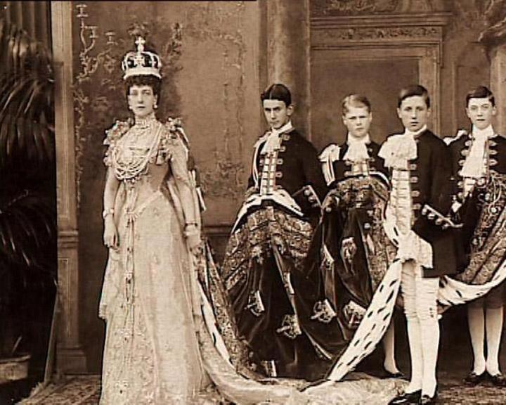 En kongelig familie