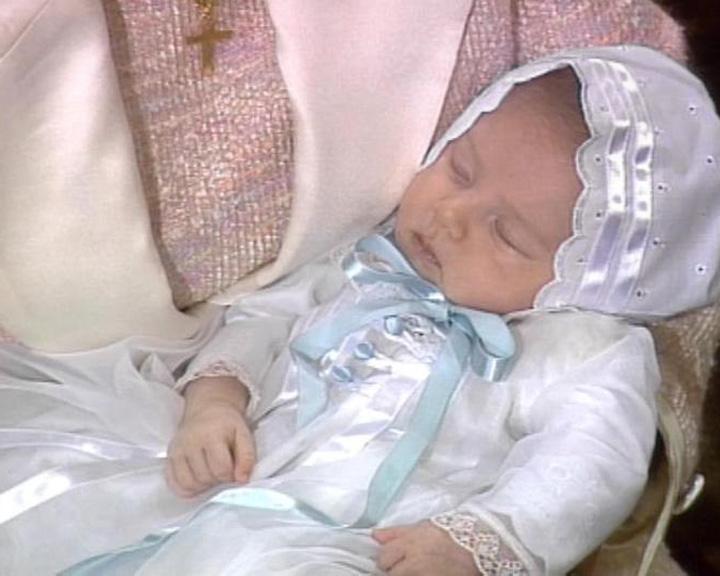 Barnedåb: Prins Nikolai