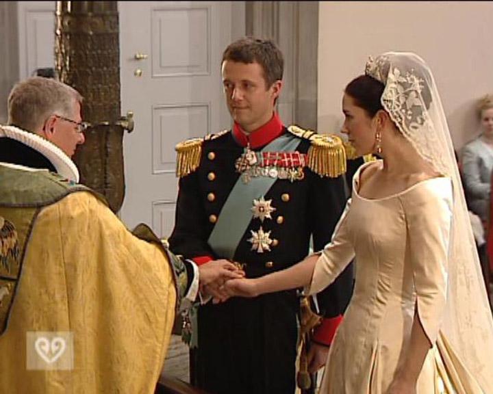 Bryllup: Frederik & Mary