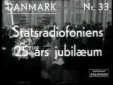 Statsradiofoniens 25 års Jubilæum Dansk Kulturarv