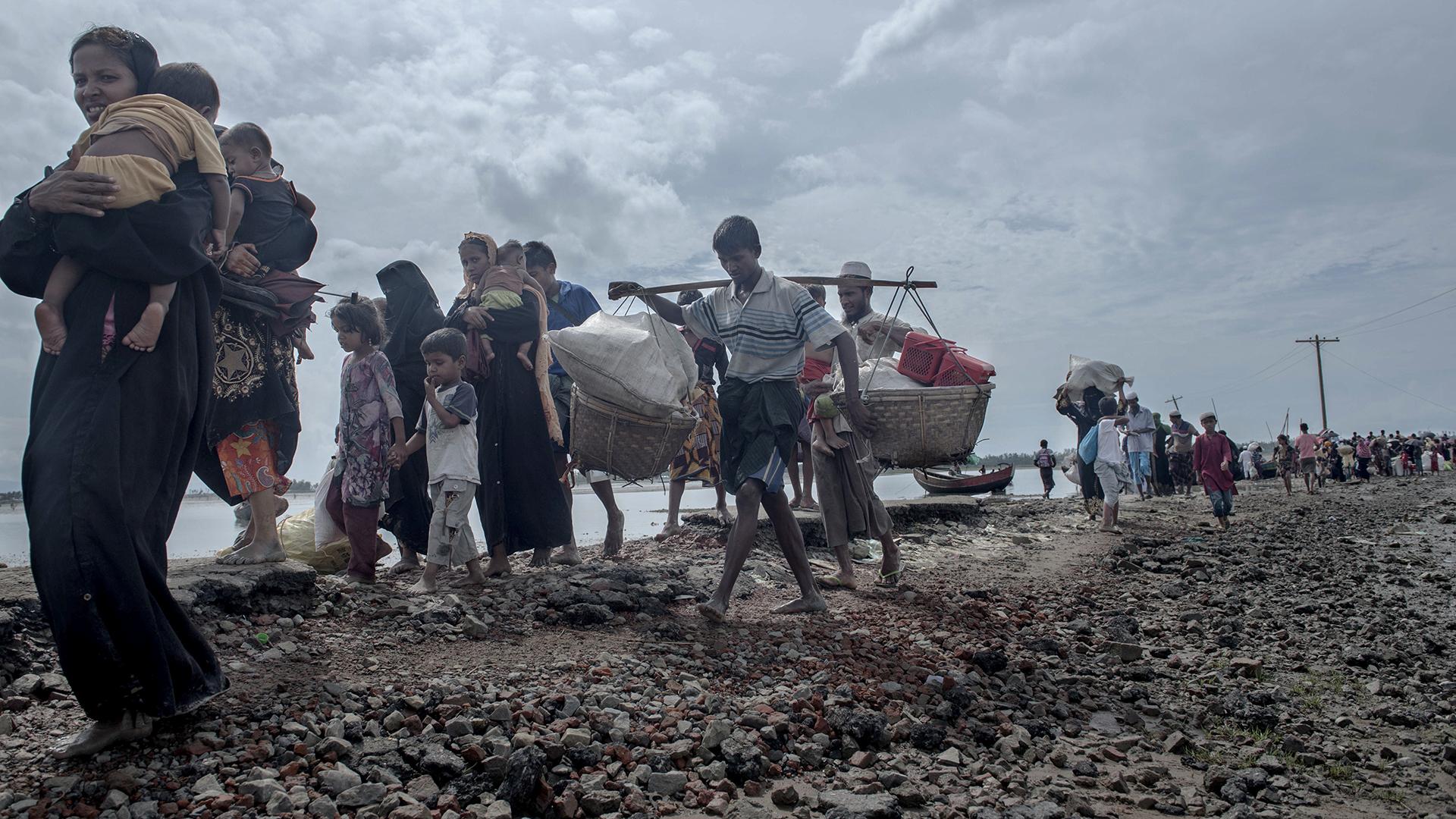 Rohingyaernes flugt)